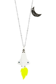 Little Moose Space Shuttle Necklace - Product Mini Image