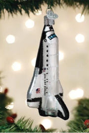Old World Christmas Space Shuttle Ornament - Product Mini Image