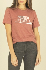 Space 46 Frequent Flyer Tee - Front cropped