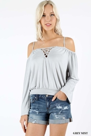 Zenana Outfitters Spagetti Strap Top - Front cropped