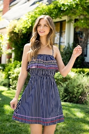 THML Clothing SPAGHETTI STRAP EMBROIDERED DRESS - Product Mini Image