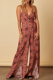 Cotton Candy Spaghetti Strap Jumpsuit - Product Mini Image