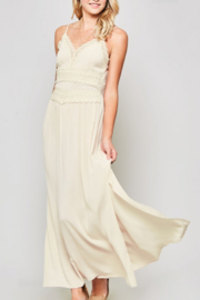 Promesa  Spaghetti Strap Lace and Crochet Maxi Dress - Product Mini Image