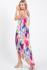 Heimish Spaghetti Strap Wrap Maxi Dress - Front cropped