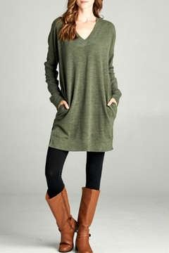 Bellamie Spandex Tunic Top - Product List Image