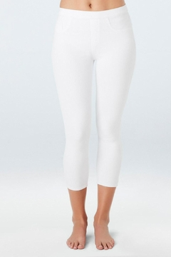 Spanx Cropped Jean-Ish Legging - Product List Image