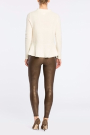 Spanx Faux Leather Legging - Front full body