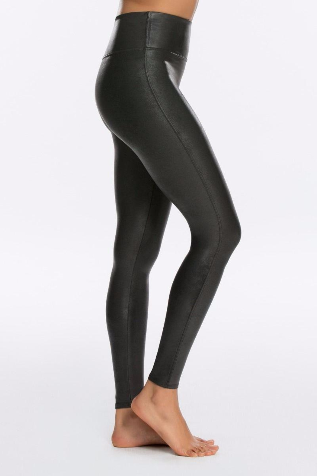 Spanx Faux Leather Legging - Side Cropped Image