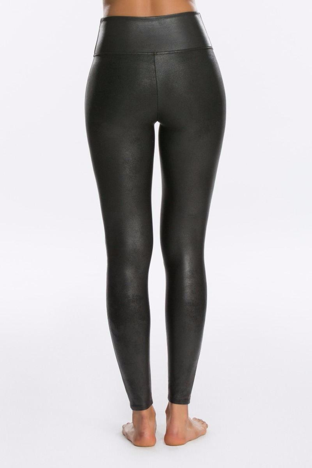 Spanx Faux Leather Legging - Front Full Image