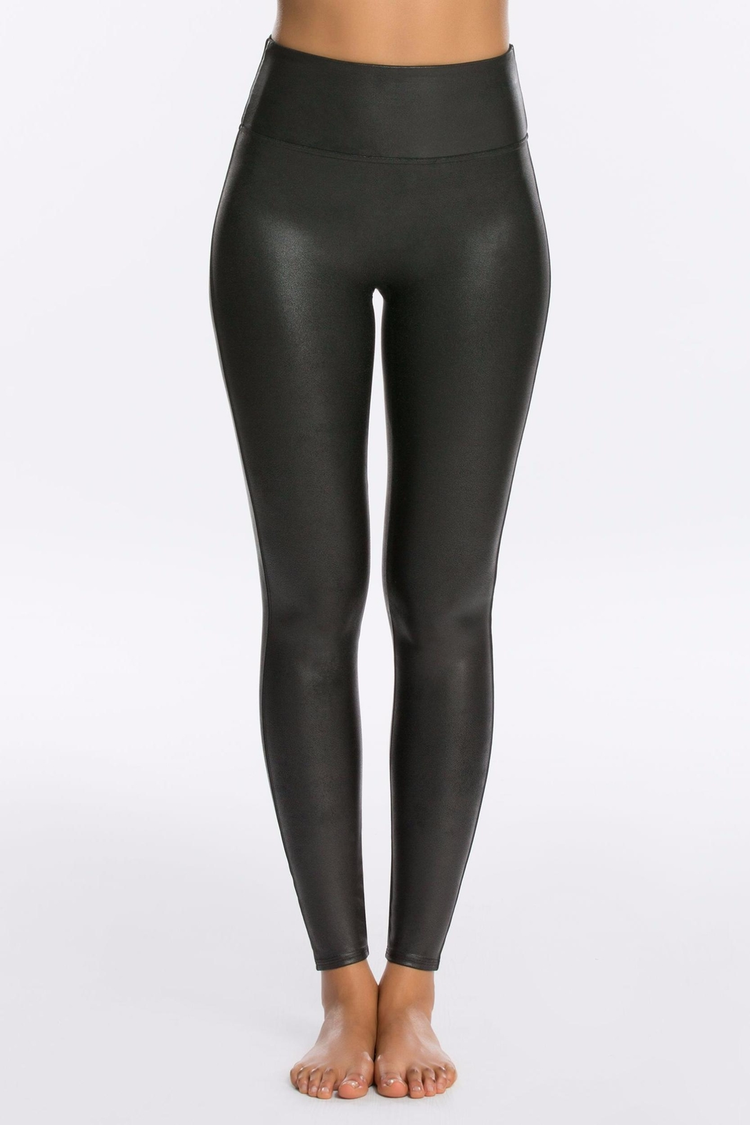 Spanx Faux Leather Legging - Front Cropped Image