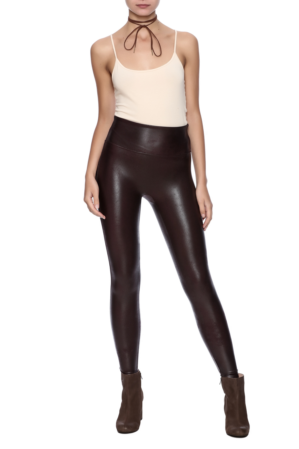 Spanx Faux Leather Leggings From Michigan By Scarborough