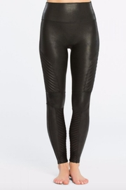 Spanx Faux-Leather Moto Legging - Product Mini Image