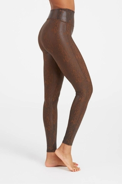 Spanx Faux Leather Snakeskin Legging - Product List Image