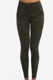 Spanx green Look at Me Now Seamless Leggings - Front cropped