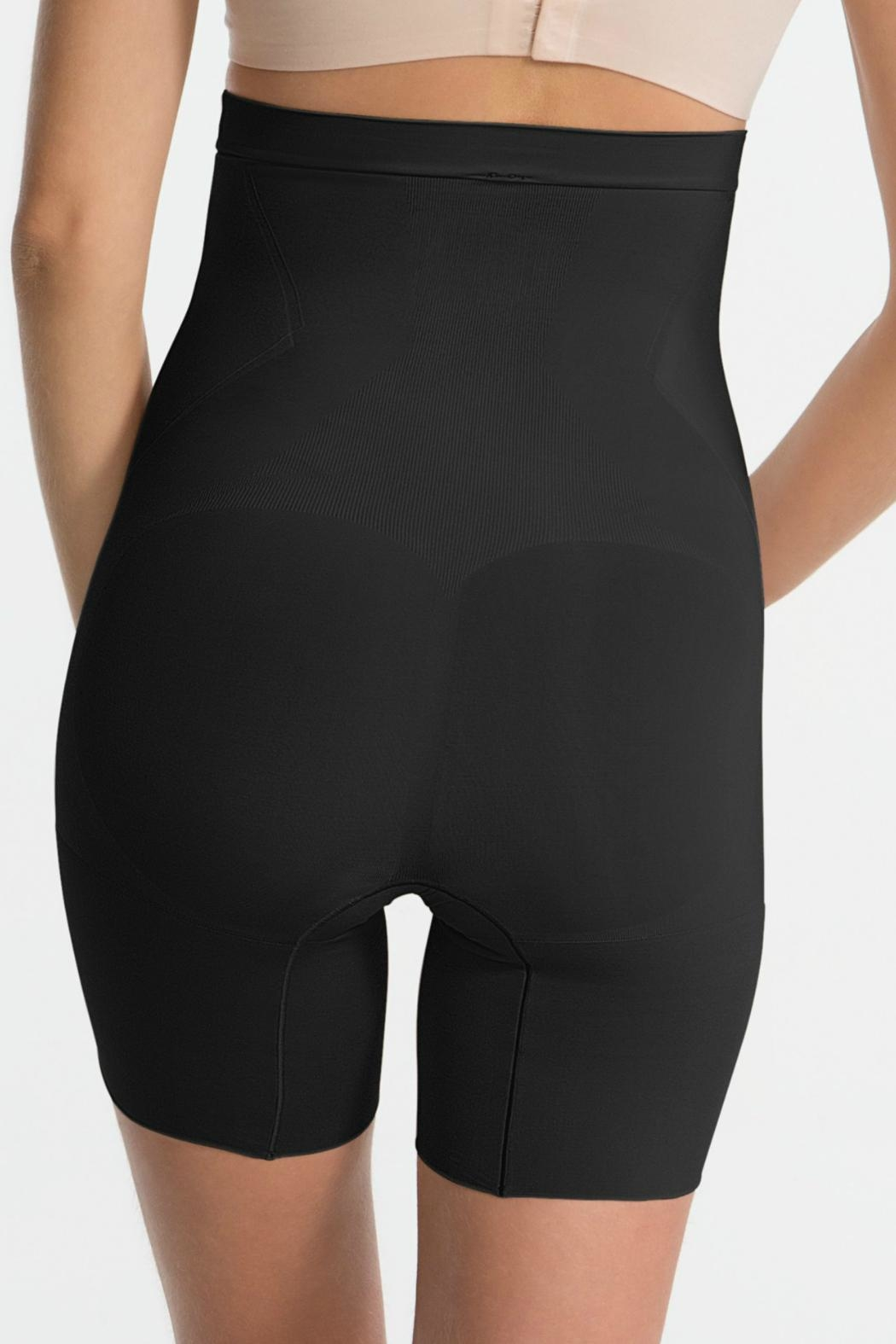 Spanx Black High Waisted Shaper - Side Cropped Image