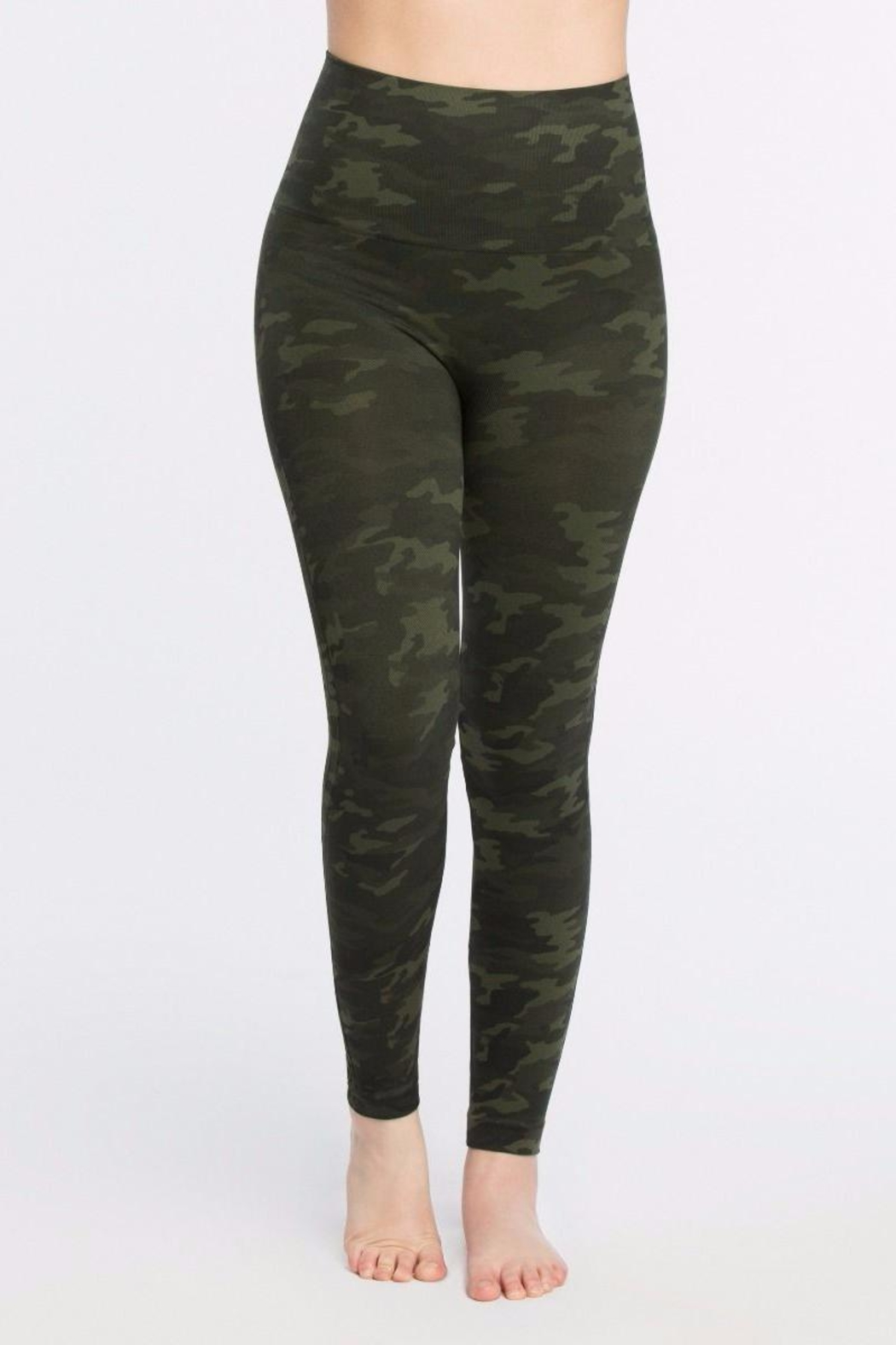 Spanx Look At Me Leggings - Front Cropped Image