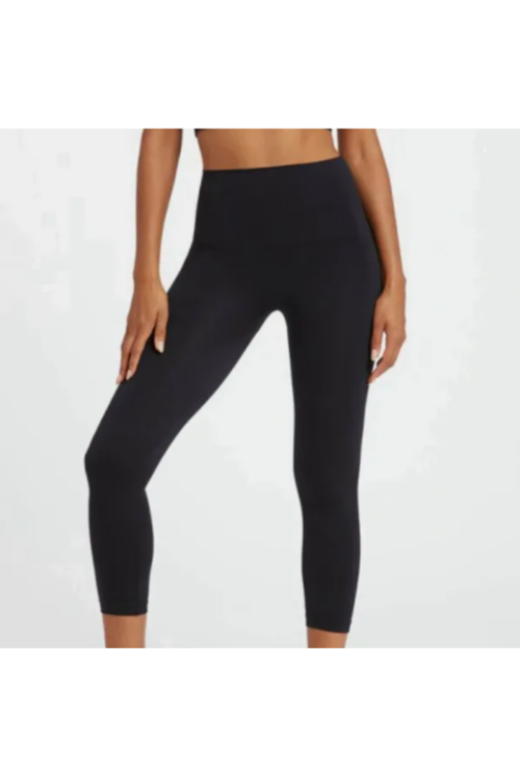 Spanx Look At Me Now Cropped Seamless Leggings - Main Image