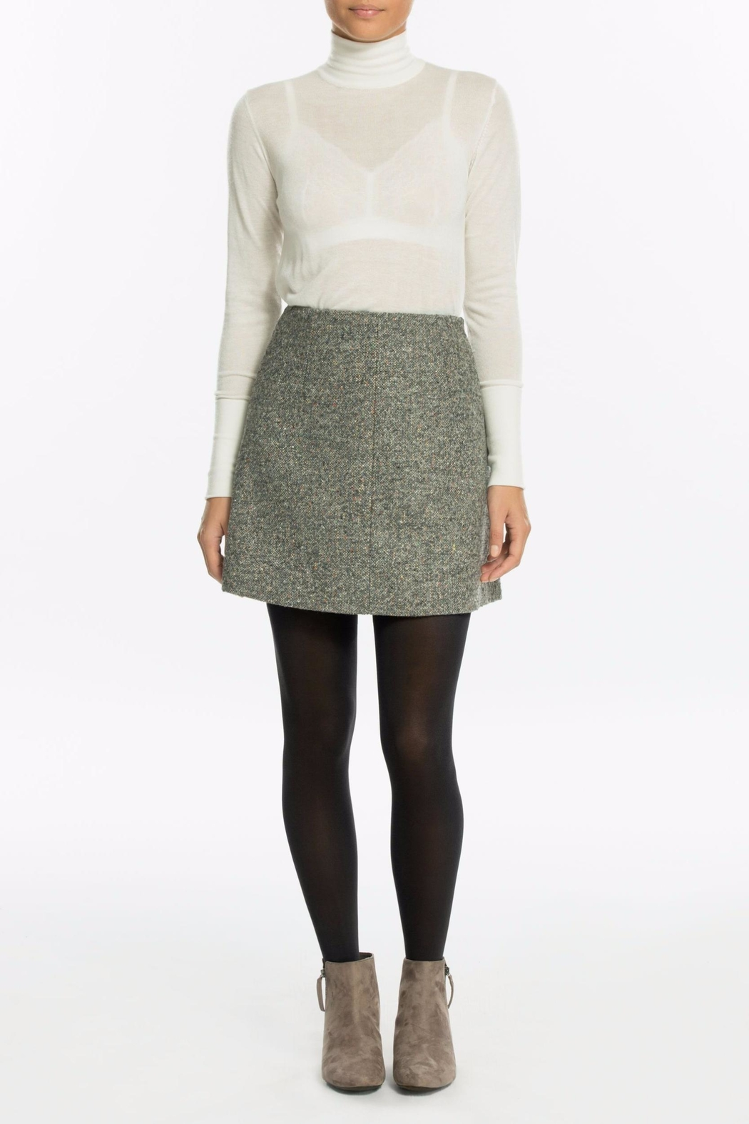 Spanx Luxe Leg Tights - Back Cropped Image