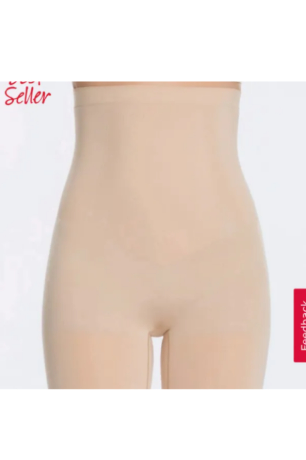 Spanx Oncore High-Waisted Mid-Thigh Short - Main Image