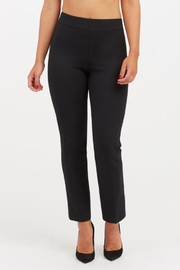 Spanx Perfect Black Pant - Slim Straight - Front cropped