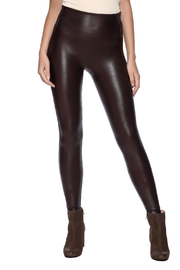 Spanx Leatherette Legging - Front cropped