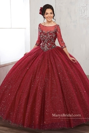 Mary's Bridal Sparking Tulle Ballgown - Product Mini Image