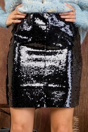 Main Strip Sparkle Baby Skirt - Product Mini Image