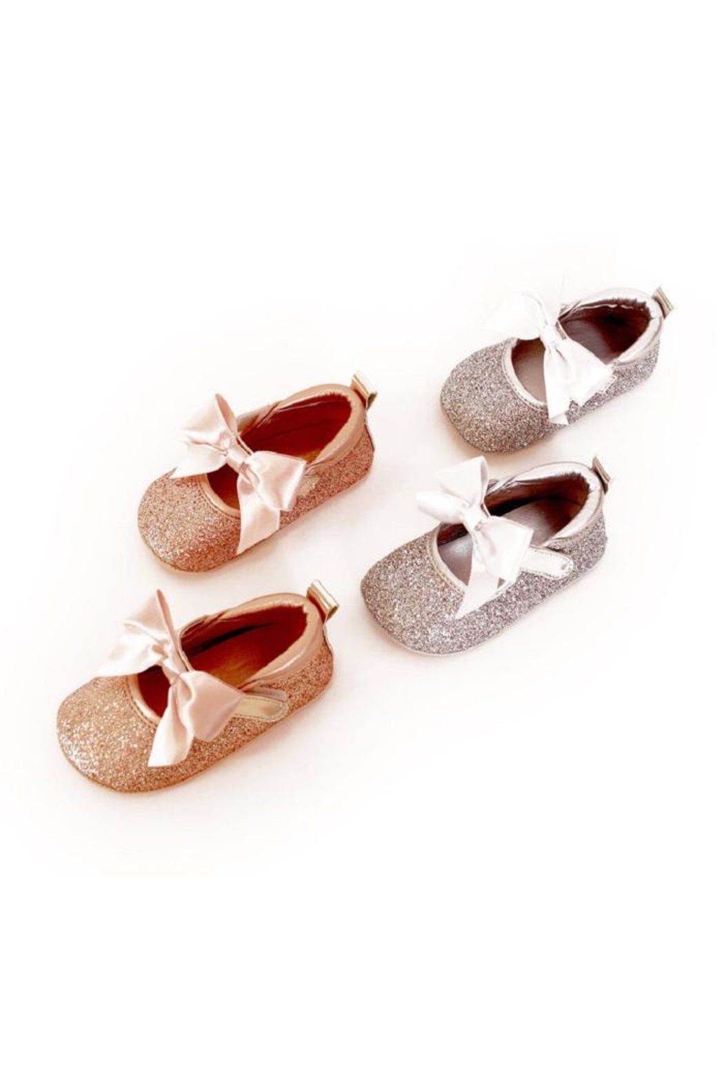 MAE LI ROSE Sparkle Bow Flat - Main Image