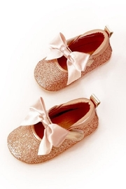 MAE LI ROSE Sparkle Bow Flat - Front cropped