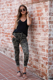 Venti 6 Sparkle Camo Jogger - Side cropped