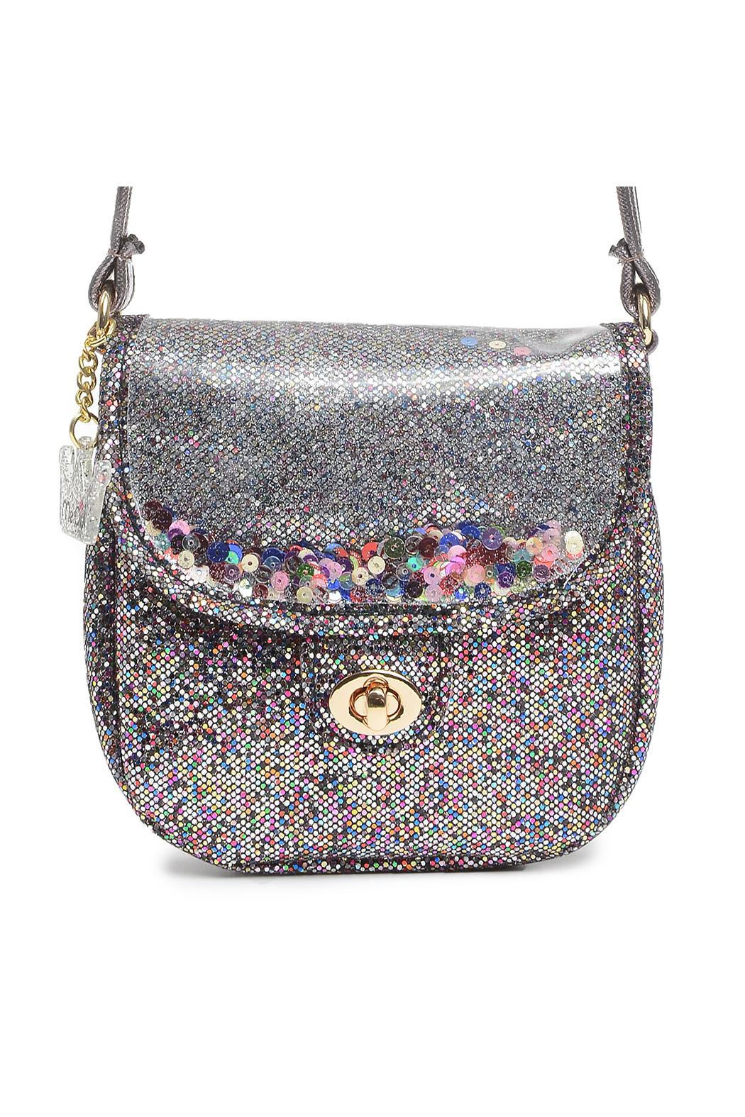 Me Oui Sparkle Crossbody Purse - Front Cropped Image