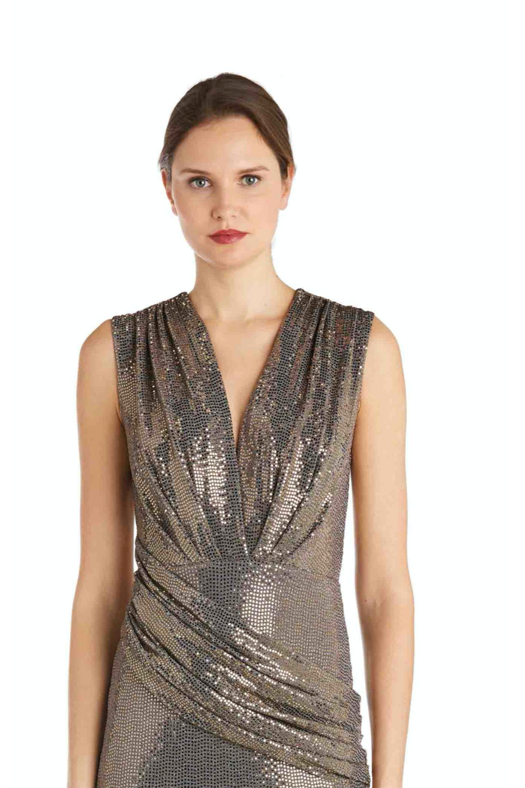 Issue New York Sparkle Dress - Side Cropped Image