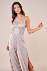 Sugar Lips Sparkle Jumpsuit - Back cropped