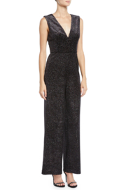 Aidan by Aidan Mattox Sparkle Knit Jumpsuit - Product Mini Image