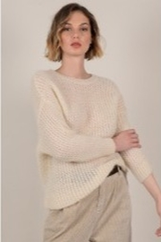 Molly Bracken Sparkle Knitted Sweater - Product Mini Image