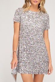 She + Sky Sparkle Sass Dress - Product Mini Image