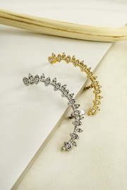 LA3accessories Sparkle Star Ear Cuffs - Product Mini Image