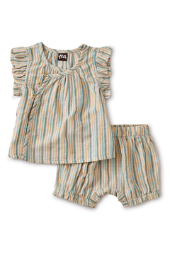 Shoptiques Product: Sparkle Stripe Wrap Set