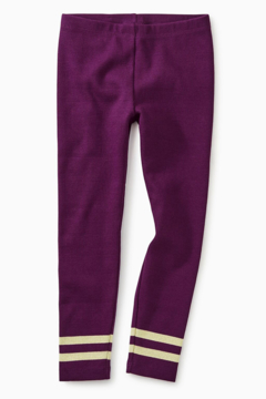 Tea Collection Sparkle Stripped Rib Legging - Product List Image