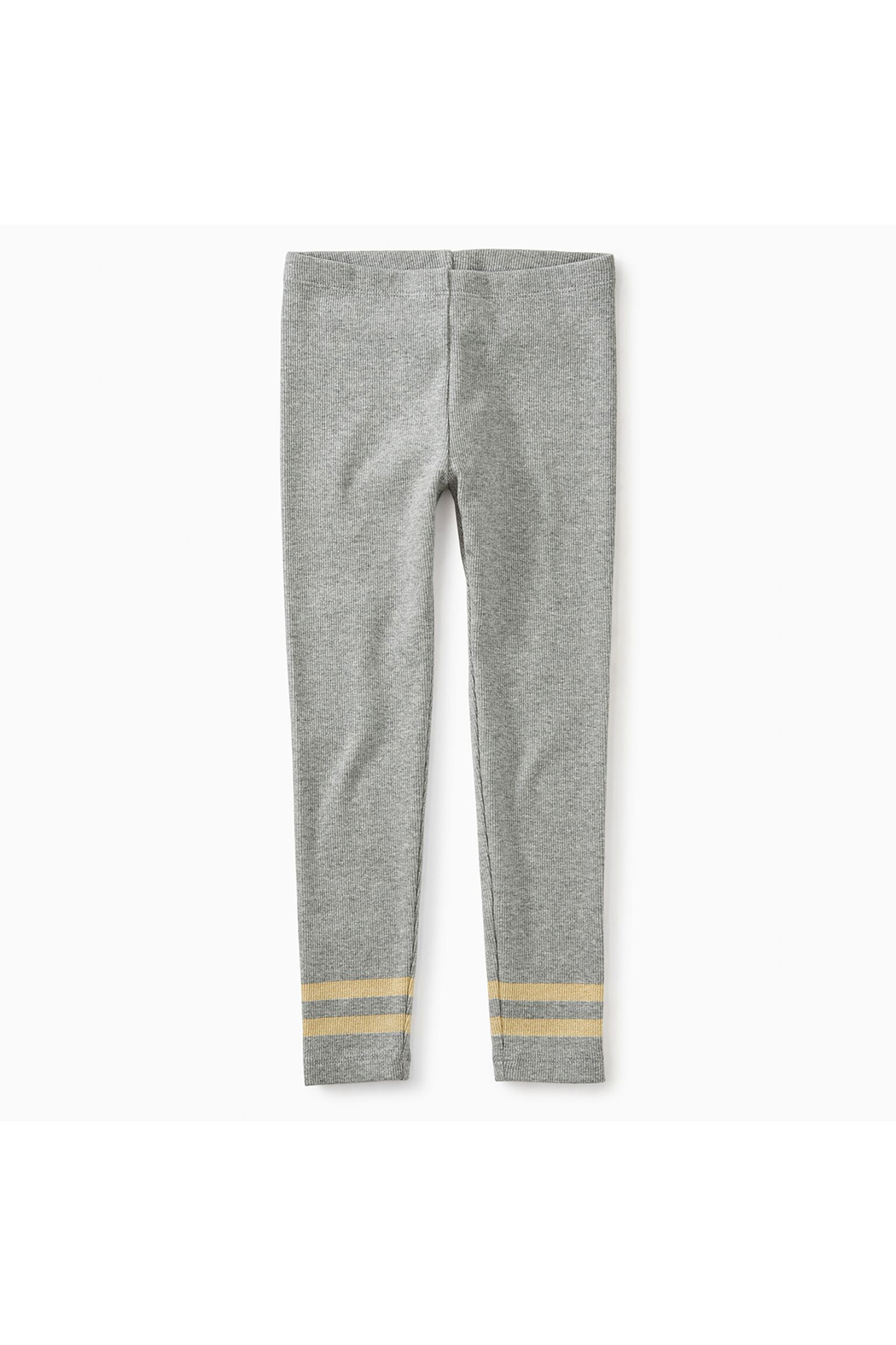 Tea Collection Sparkle Stripped Rib Legging - Front Cropped Image