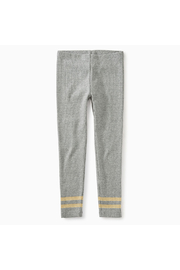 Tea Collection Sparkle Stripped Rib Legging - Front cropped