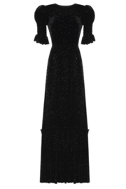 The Vampire's Wife SPARKLE VELVET MIDI DRESS - Product Mini Image