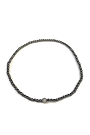 Lovely Lisa Sparkling Ball Choker - Front cropped