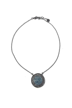 Marlyn Schiff Sparkling Disc Necklace - Alternate List Image
