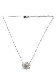 Lets Accessorize Sparkling Flower Necklace - Product Mini Image