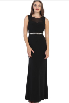 Cindy Collection Sparkling Jeweled Formal Gown - Alternate List Image