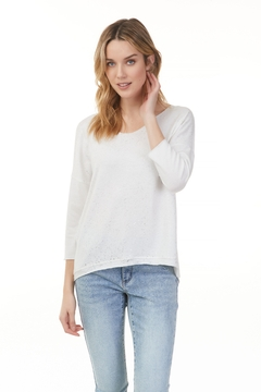 Charlie B.  Sparkling Knit Tee - Product List Image