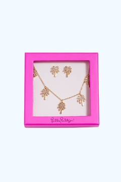 Lilly Pulitzer Sparkling Palm-Trees Set - Product List Image