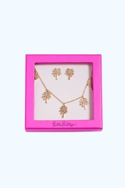 Lilly Pulitzer Sparkling Palm-Trees Set - Product Mini Image