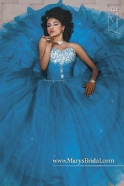 Mary's Bridal Sparkling Tulle Ball Gown - Product Mini Image